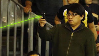 Pelaku Penyenteran Laser Orang Indonesia!