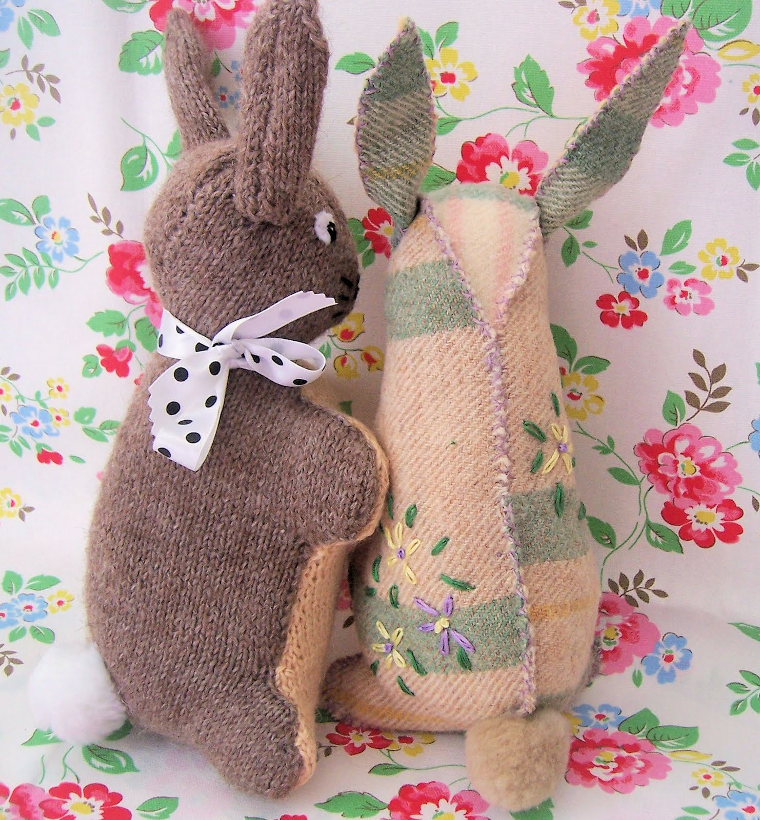 Bunny Pattern To Sew The basic bunny shape is the
