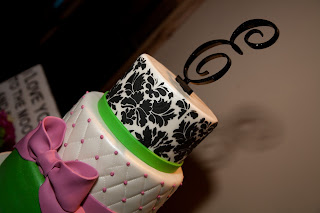 sweet cakes by rebecca - damask and quilted wedding cake
