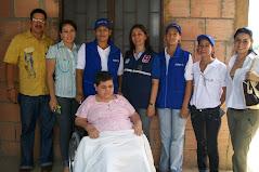 APOYANDO A LA GESTORA SOCIAL ENTREGA DE AYUDAS TECNICAS A LOS DISCAPACITADOS
