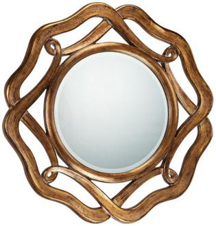 Focal point styling love the look round mirrors - Specchio feng shui ...