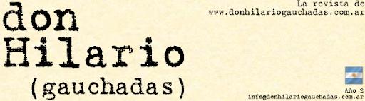El blog de Don Hilario (gauchadas)