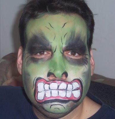 Ideas maquillaje para niños halloween - Disfraz casero