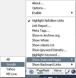 firefox add-ons pagerank seo