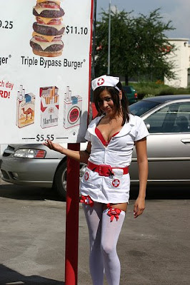 heart attack grill waitress