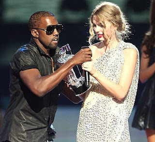 kanye west vma taylor swift picture