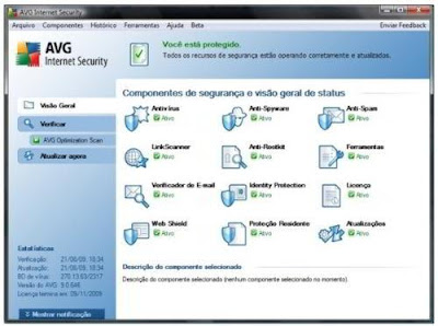 Imagem do AVG Anti-Virus Free 9.0
