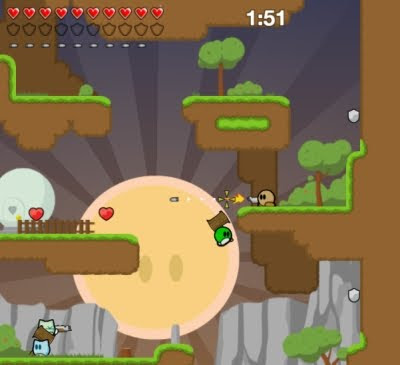 Teeworlds tiro online batalhas inimigo