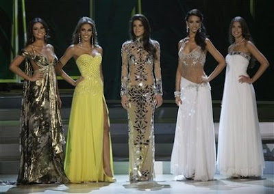 As Misses; Colombia, Venezuela, Republica Dominicana, Rússia e Mexico