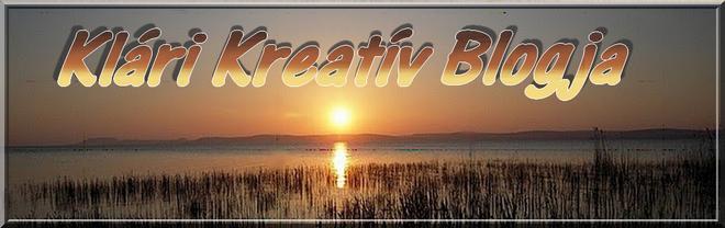 KKB azaz Klári Kreativ Blogja