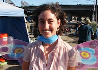 Emily Frost with Butterfly Wings