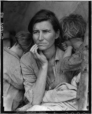 Drew Versak - Migrant Mother by Dorothea Lange