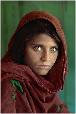 Drew Versak - Steve McCurry - The Afghan Girl