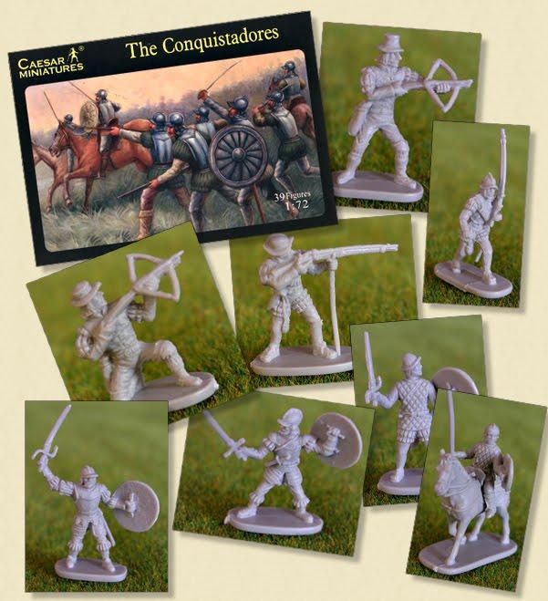 Drew Versak - Caesar Miniatures 1:72 Conquistadors