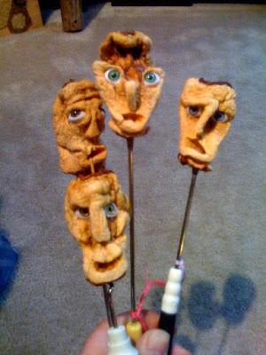 Drew Versak - Apple Head Dolls Group Shot