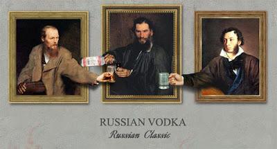 Russian vodka Russian classic