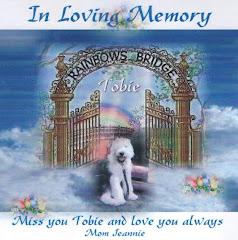 Memorial For Tobie