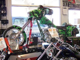 Motorcycle Show Room Morden London
