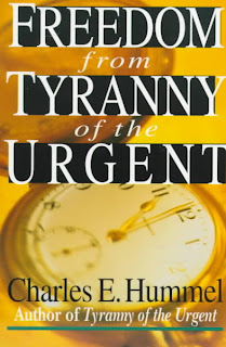 Just Being Me Tyranny Of The Urgent