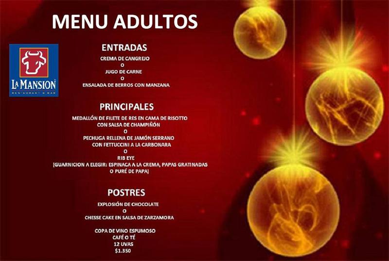 Restaurante la mansion nh crystal cancun cena fin de a o y - Menus para fin de ano ...