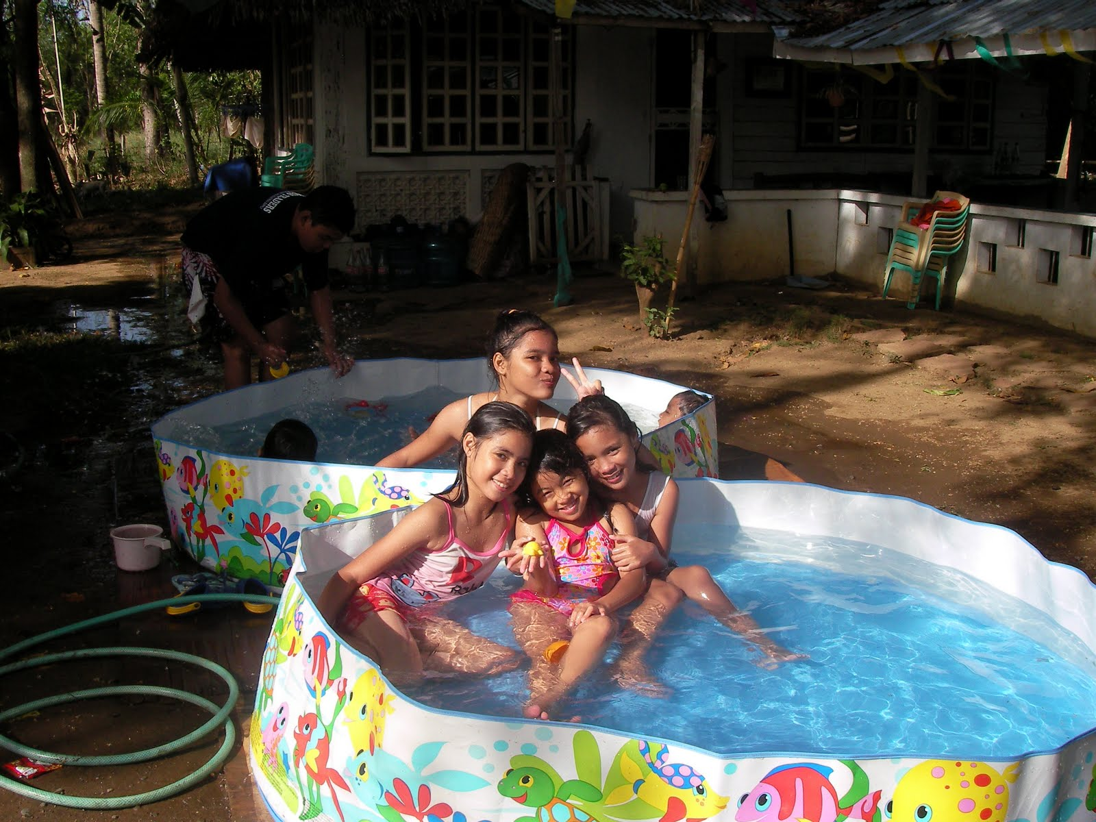 Enjoying the Kiddie Pool | Words From My Heart...