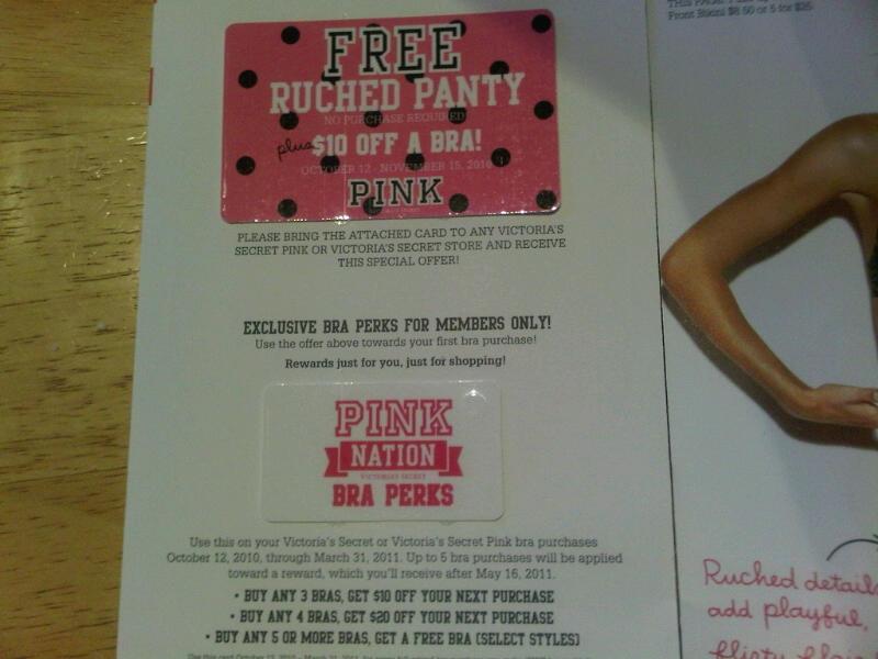 Victoria secret birthday coupon code