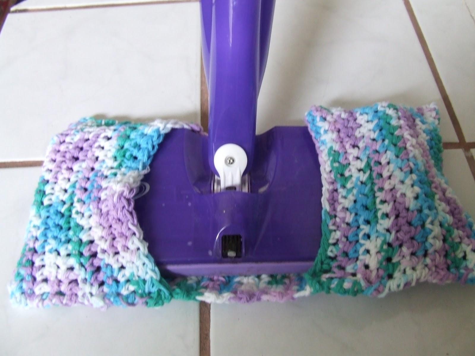 Mixed Media Swiffer Wet Jet Crocheted Cotton Pad