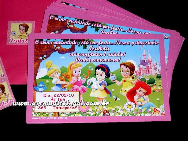 convites personalizados de aniversário infantil Arte muito legal