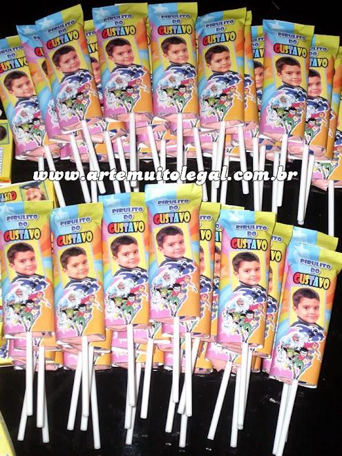 Convites infantis personalizados e lembrancinhas de aniversário Arte muito legal