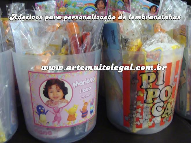 Arte muito legal - Convites infantis e lembraninhas de aniversário