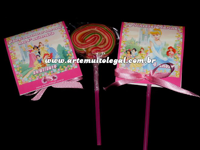 Arte muito legal - Convites de aniversário infantil e lembrancinhas