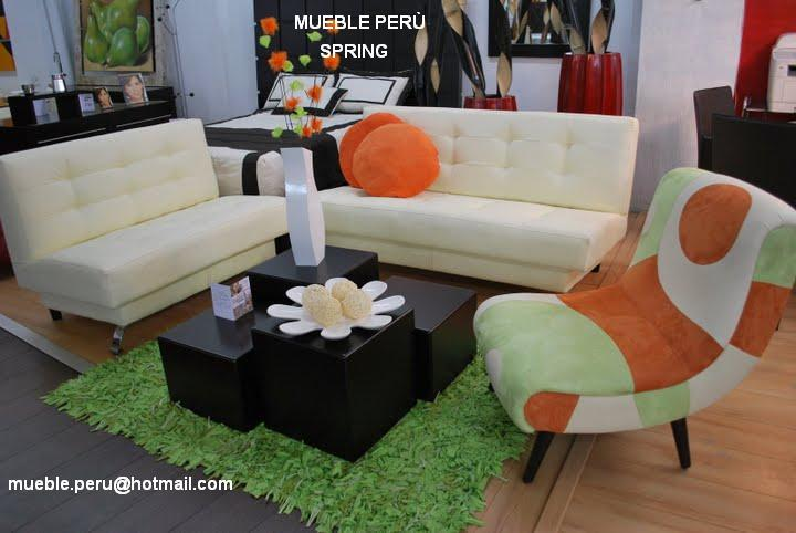 Mueble peru mueble de sala dise o barco for Muebles modernos para departamentos pequenos