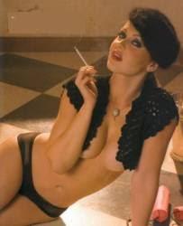Gaby Spanic Semi Desnuda