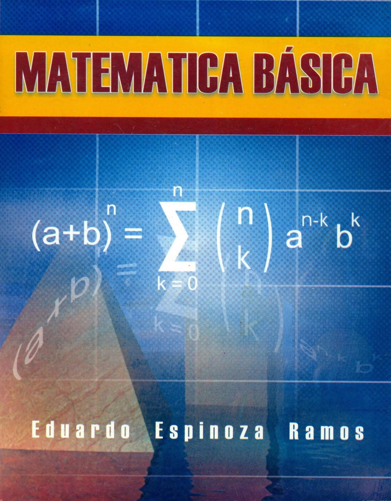 Matemática Básica   Eduardo Espinoza Ramos FreeLibros