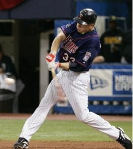 Minnesota Twins player up to bat