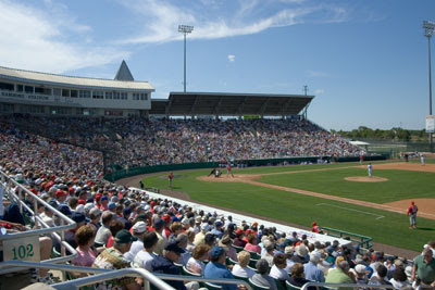 Twins Spring Training Game - Fun in the Sun