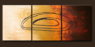 Vision Painting-Life's Journey-Abstract Art Paintings by Carmen Guedez - Image