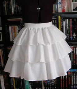 Other Amusements: Three tiered skirt/under skirt