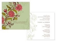 Flower Garden Wedding Invite