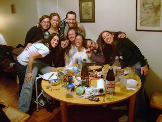 Tami, Flor, Dado. Barby, Lau, Dr. Z, Nico(Adonde vamo?), Ile, Male.