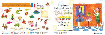 Librito del Bicentenario de la Indepencia de COLOMBIA