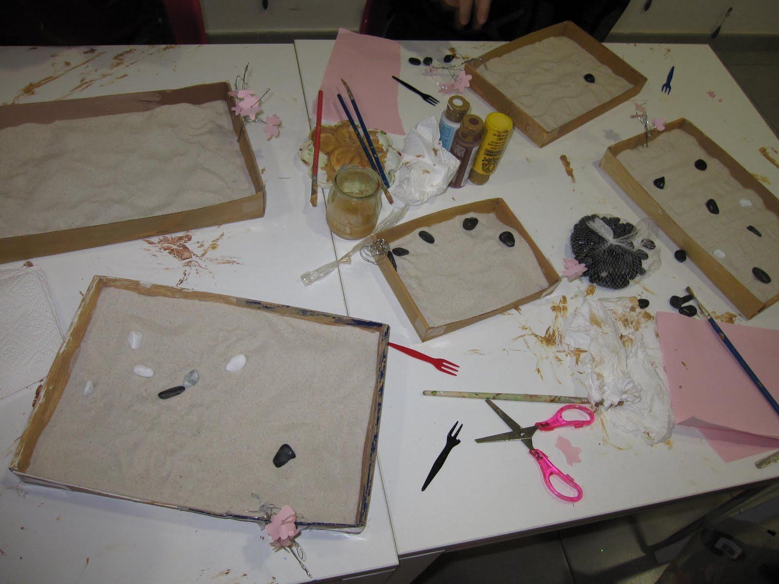 El book de daniela violi taller de puzzles y taller de for Jardin zen miniature casa
