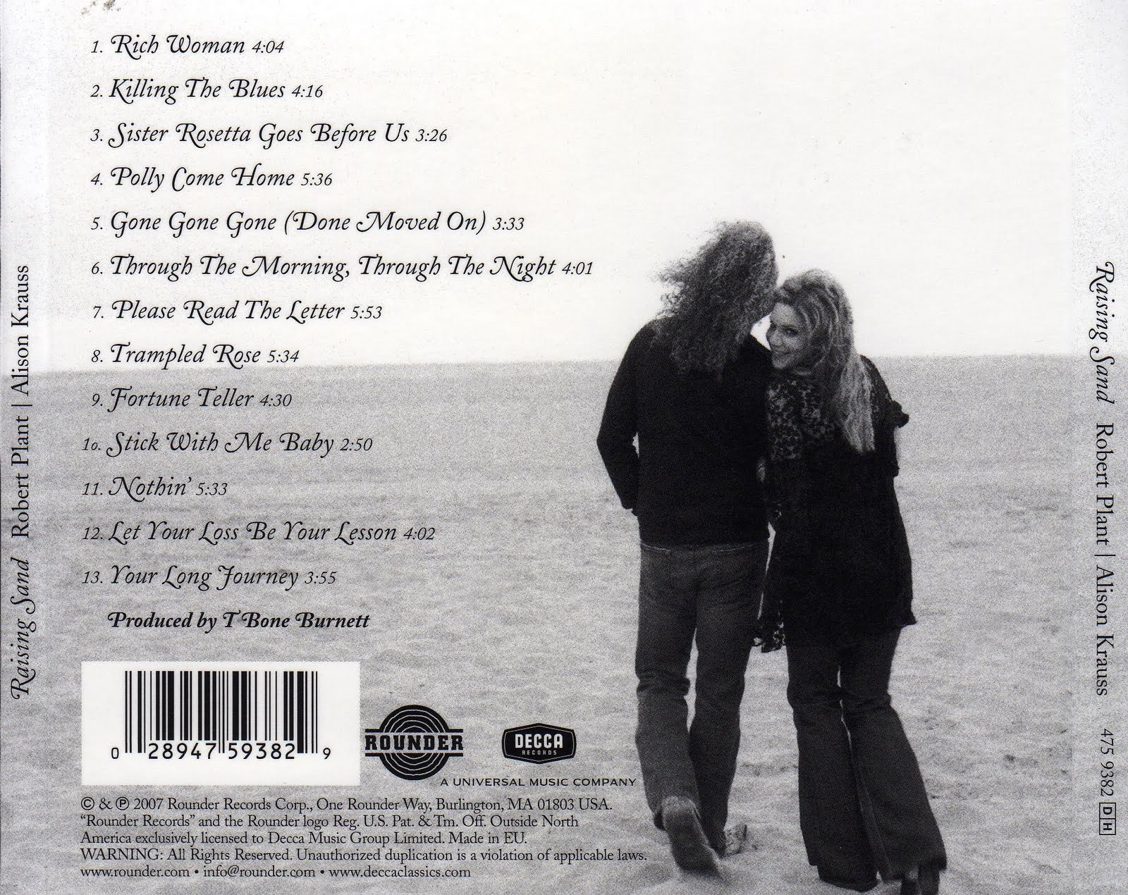 My Music Collection: Robert Plant and Alison Krauss Raising Sand Robert Plant And Alison Krauss