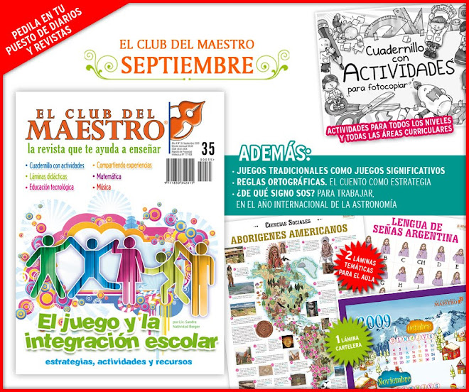 :: EL CLUB DEL MAESTRO :: SEPTIEMBRE 2009