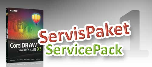 corel draw x5 servis pack yay�nland�