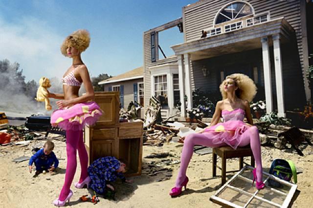 the fashion image david lachapelle. Black Bedroom Furniture Sets. Home Design Ideas