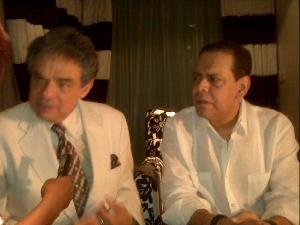 Villalona y José José, en casa del Mayimbe