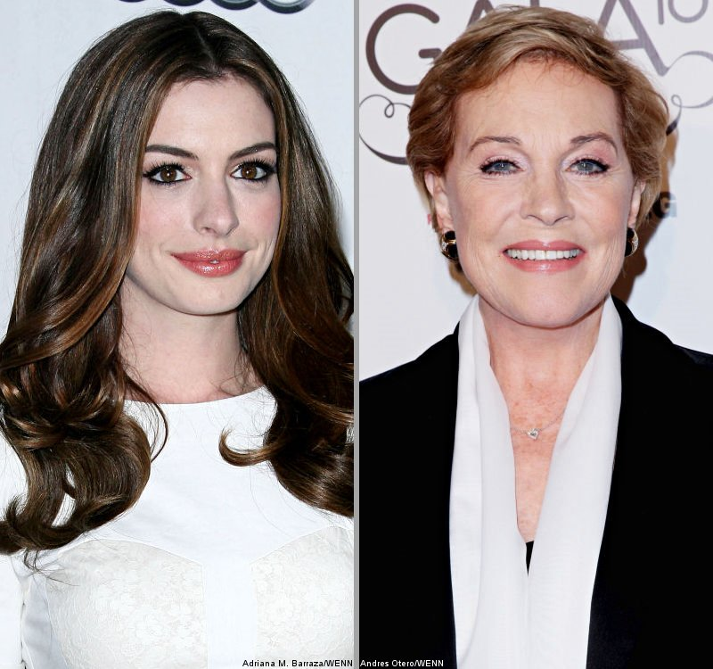 Calebrity And Fashion: Report: Anne Hathaway And Julie
