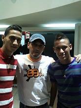 Ganso, DJ Chris Souldeep e Neymar (Santos F.C.)