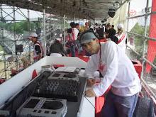 DJ Chris Souldeep na Torcida VIP Toyota (Fórmula 1) Autódromo de Interlagos